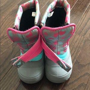 Girls Waterproof Snow/Rain Boots Insulated